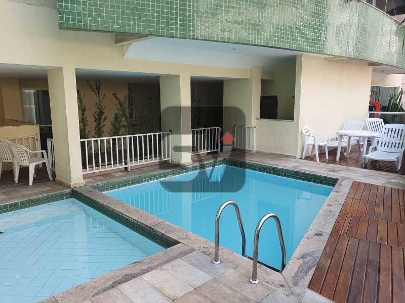 Piscina - Apartamento MARAVILHOSO, Pronto para morar, ótima localização e com INFRA - SVAP20076 - 21