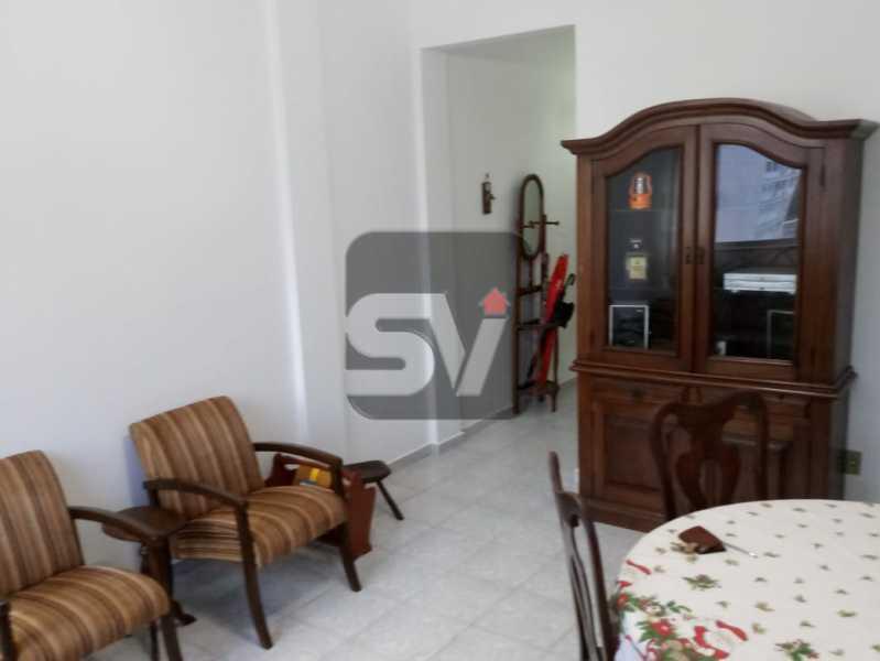 Sala - 3 Quartos. Botafogo. Vaga do Condomínio. Vista Livre - SVAP30051 - 3