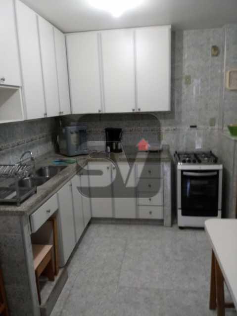 Cozinha - 3 Quartos. Botafogo. Vaga do Condomínio. Vista Livre - SVAP30051 - 9