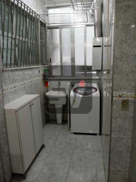 Área de serviço - 3 Quartos. Botafogo. Vaga do Condomínio. Vista Livre - SVAP30051 - 11