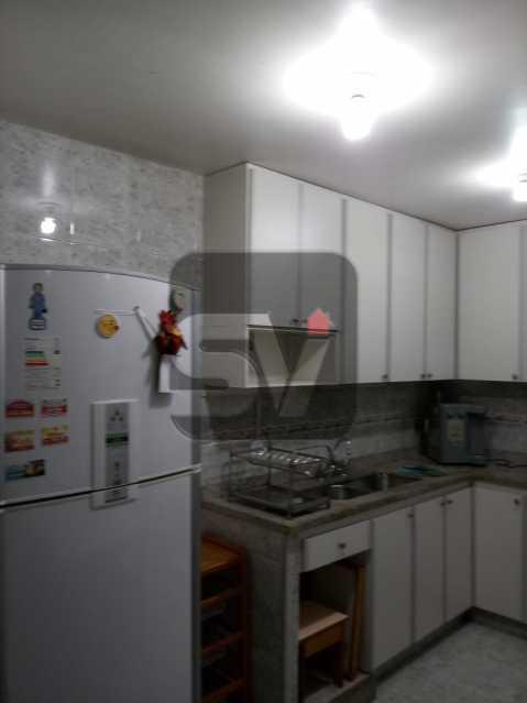 Cozinha - 3 Quartos. Botafogo. Vaga do Condomínio. Vista Livre - SVAP30051 - 10