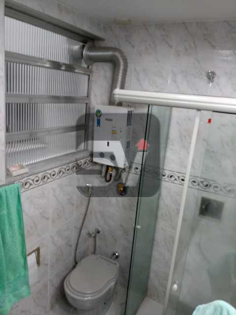 Banheiro social - 3 Quartos. Botafogo. Vaga do Condomínio. Vista Livre - SVAP30051 - 6