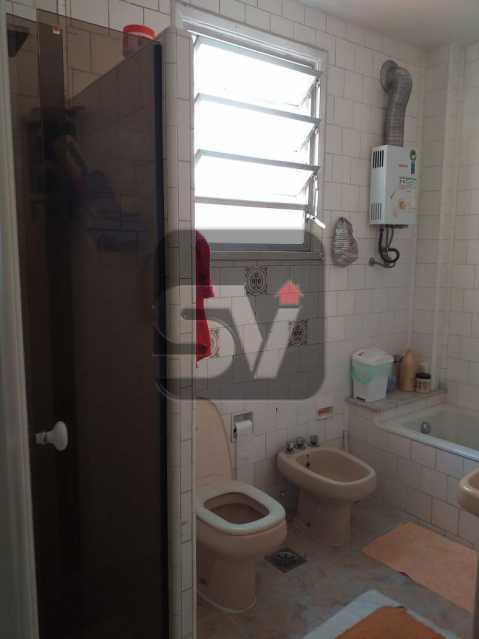 Banheiro social - 3 QUARTOS. Flamengo. Andar alto - SVAP30052 - 6