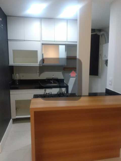 Cozinha - Apartamento MARAVILHOSO! Quarto e Sala c/ Suíte e Closet, Ótima Localização!!!! - SVAP10048 - 3