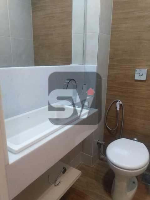 Banheiro Suíte  - Apartamento MARAVILHOSO! Quarto e Sala c/ Suíte e Closet, Ótima Localização!!!! - SVAP10048 - 15