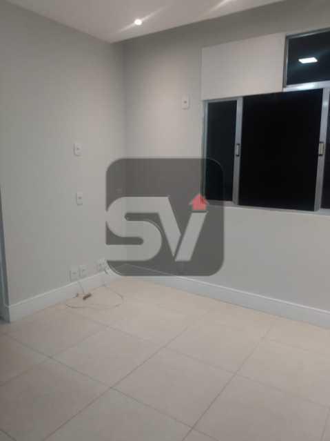 Sala - Apartamento MARAVILHOSO! Quarto e Sala c/ Suíte e Closet, Ótima Localização!!!! - SVAP10048 - 5