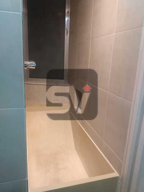 Banheiro Suíte  - Apartamento MARAVILHOSO! Quarto e Sala c/ Suíte e Closet, Ótima Localização!!!! - SVAP10048 - 16