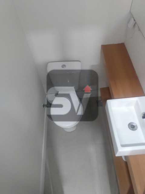 Lavabo - Apartamento MARAVILHOSO! Quarto e Sala c/ Suíte e Closet, Ótima Localização!!!! - SVAP10048 - 8