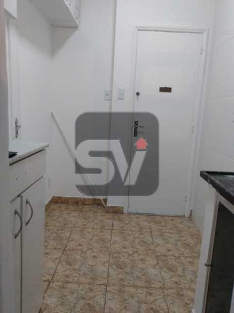 Cozinha - 2 quartos. Jardim de Inverno. Laranjeiras. - SVAP20078 - 7