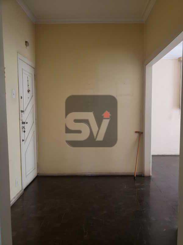 Hall - 2 quartos. Botafogo. Sala (2 ambientes). Varanda. Copa e cozinha - SVAP20080 - 1