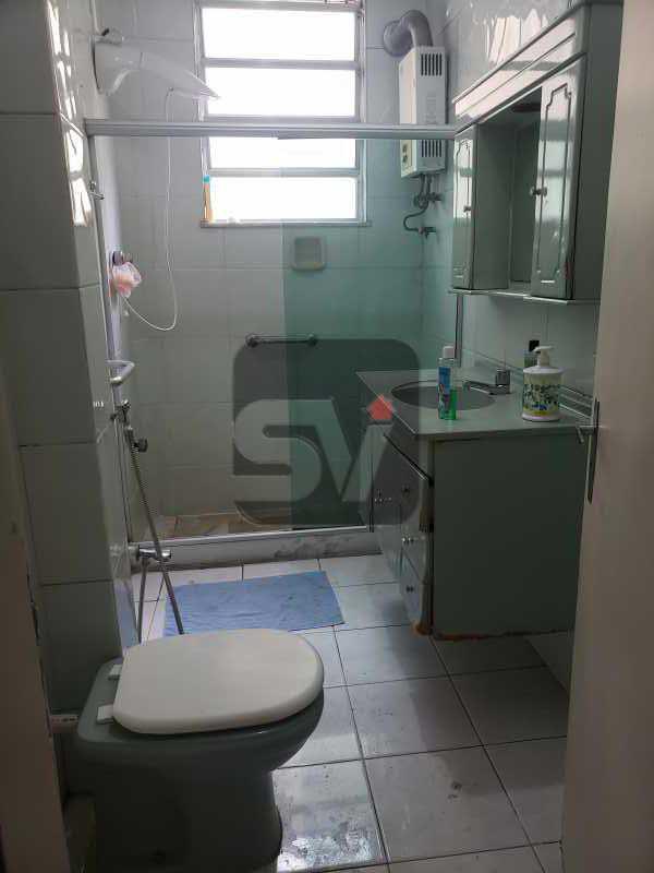 Banheiro social - 2 quartos. Botafogo. Sala (2 ambientes). Varanda. Copa e cozinha - SVAP20080 - 10