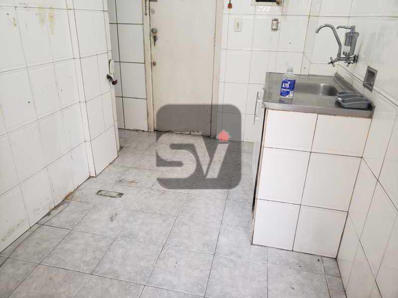 Cozinha - 2 quartos. Botafogo. Sala (2 ambientes). Varanda. Copa e cozinha - SVAP20080 - 15