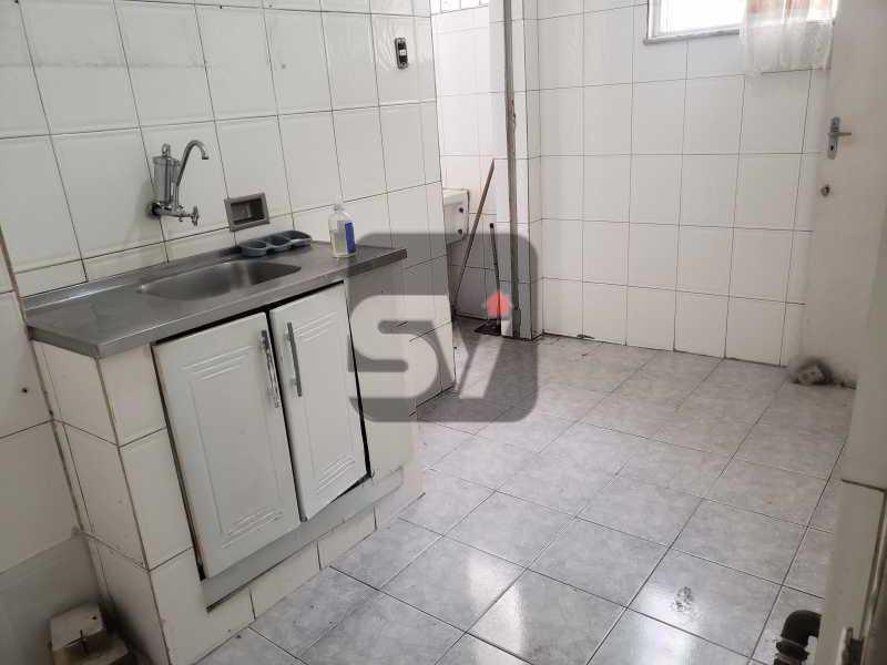 Cozinha - 2 quartos. Botafogo. Sala (2 ambientes). Varanda. Copa e cozinha - SVAP20080 - 16