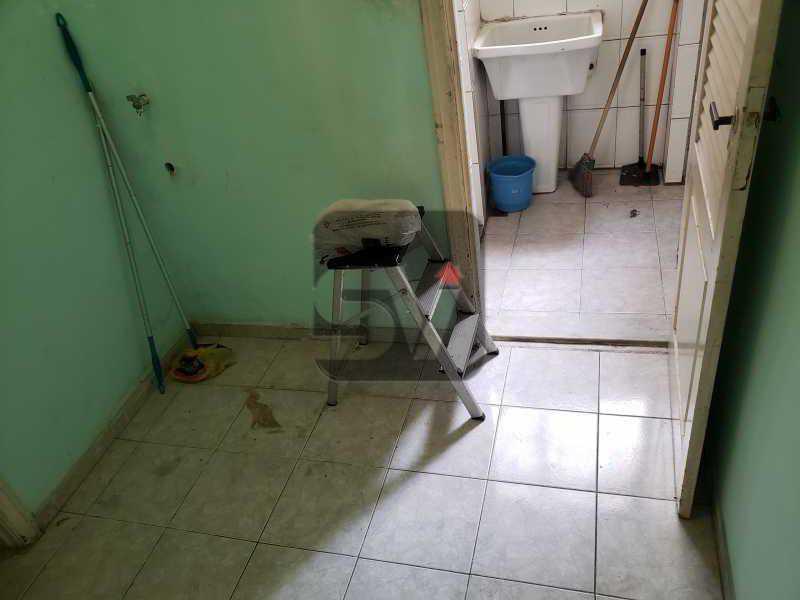 Dependência - 2 quartos. Botafogo. Sala (2 ambientes). Varanda. Copa e cozinha - SVAP20080 - 21