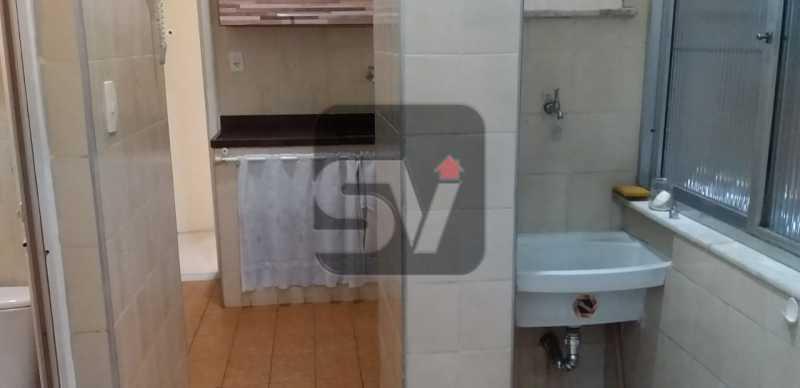 Área de serviço - 2 quartos. Copacabana. Próximo ao metrô - SVAP20082 - 10