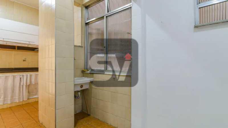 Área de serviço - 2 quartos. Copacabana. Próximo ao metrô - SVAP20082 - 9