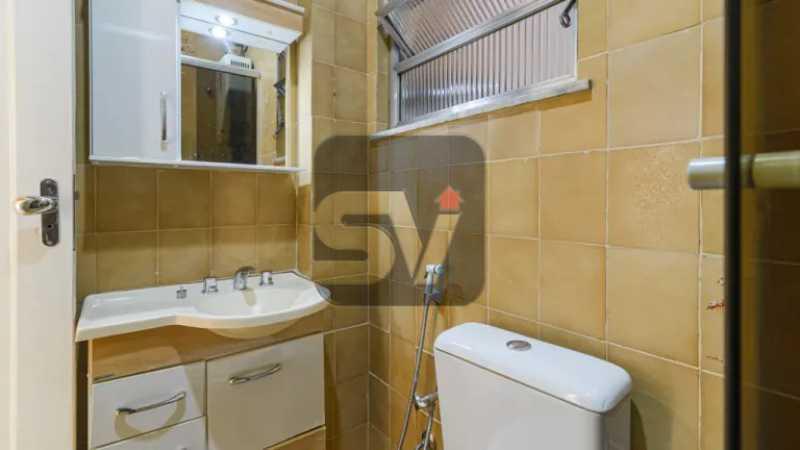 Banheiro social - 2 quartos. Copacabana. Próximo ao metrô - SVAP20082 - 5