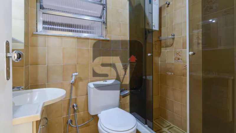Banheiro social - 2 quartos. Copacabana. Próximo ao metrô - SVAP20082 - 6