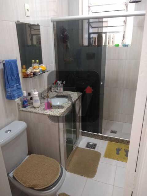Banheiro social - Quarto e sala. Catete. Hidráulica e Elétrica novas. Silencioso - SVAP10051 - 5