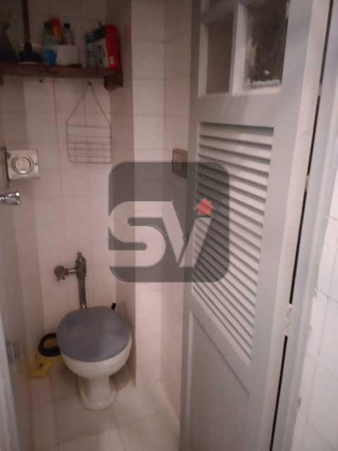 Banheiro de serviço - Quarto e sala. Catete. Hidráulica e Elétrica novas. Silencioso - SVAP10051 - 15