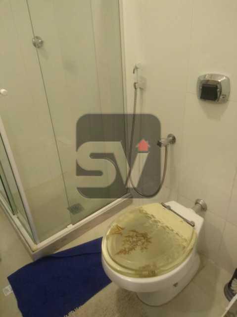 Banheiro - ótimo conjugadão vista mar/ cristo redentor, dois ambientes e mobiliado - SVKI00027 - 17