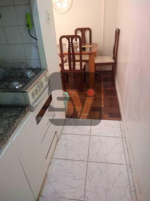 Cozinha - ótimo conjugadão vista mar/ cristo redentor, dois ambientes e mobiliado - SVKI00027 - 13