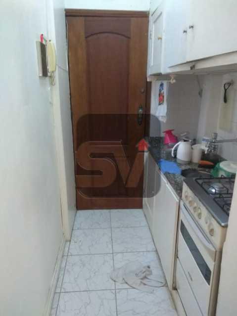 Cozinha - ótimo conjugadão vista mar/ cristo redentor, dois ambientes e mobiliado - SVKI00027 - 12