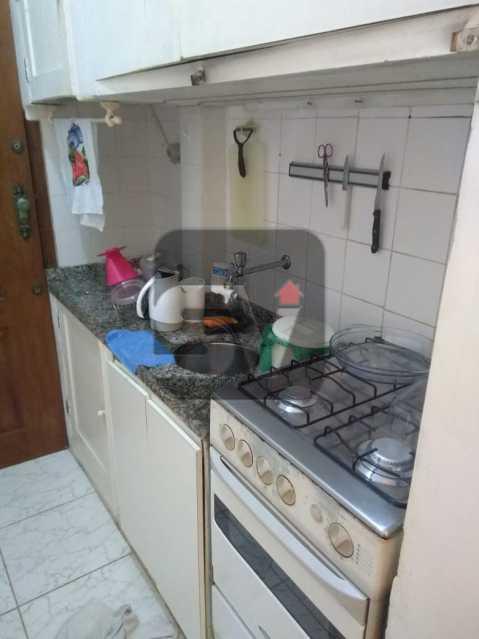 Cozinha - ótimo conjugadão vista mar/ cristo redentor, dois ambientes e mobiliado - SVKI00027 - 11