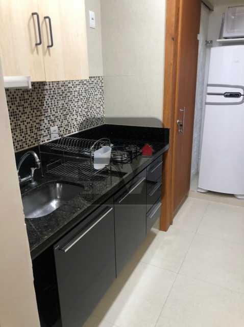 Cozinha - Mobiliado. Reformado. Quarto e sala. Flamengo. Fundos. Silencioso. - SVAP10053 - 10