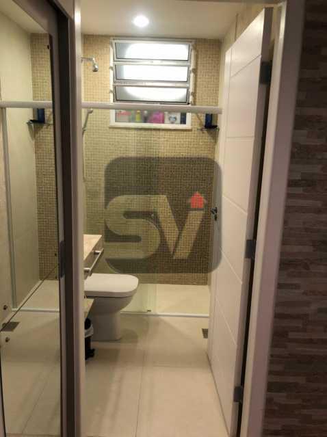 Banheiro - Mobiliado. Reformado. Quarto e sala. Flamengo. Fundos. Silencioso. - SVAP10053 - 8