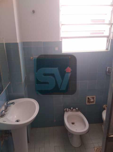 Banheiro social 1 - 3 quartos. Botafogo. 2 Banheiros sociais. - SVAP30056 - 6