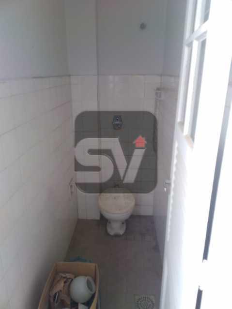 Banheiro de serviço - 3 quartos. Botafogo. 2 Banheiros sociais. - SVAP30056 - 18