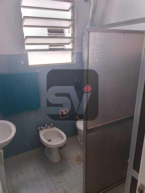 Banheiro social 1 - 3 quartos. Botafogo. 2 Banheiros sociais. - SVAP30056 - 5