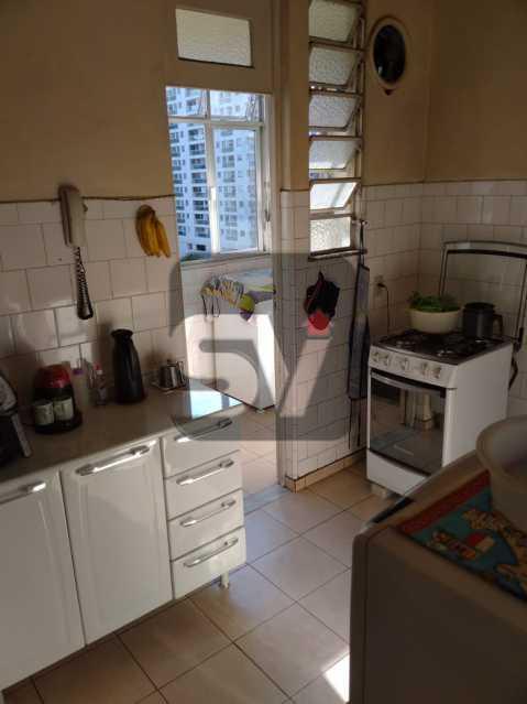 Cozinha - Andar Alto. 4 quartos. 2 Banheiros sociais. Vaga. Catete - SVAP50001 - 10