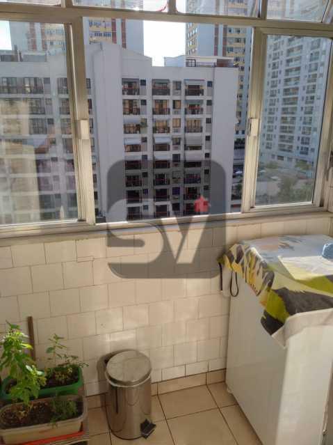 Área de serviço - Andar Alto. 4 quartos. 2 Banheiros sociais. Vaga. Catete - SVAP50001 - 12