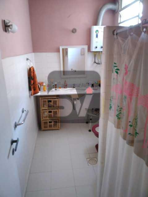 Banheiro social 1 - Andar Alto. 4 quartos. 2 Banheiros sociais. Vaga. Catete - SVAP50001 - 4