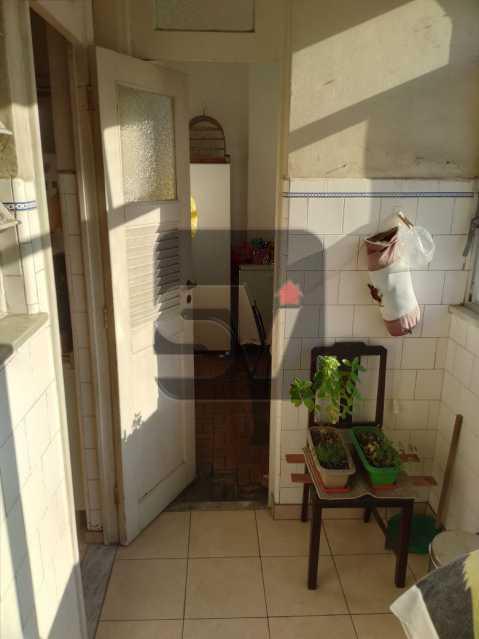 Área de serviço - Andar Alto. 4 quartos. 2 Banheiros sociais. Vaga. Catete - SVAP50001 - 11