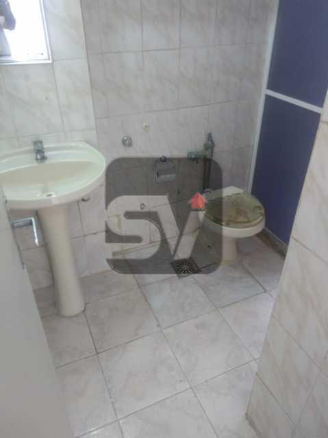 Banheiro social - DOIS DORMITORIO E VAGA NA GLORIA, P´ROXIMO ATERRO, METRO E CENTRO DA CIDADE, PREÇO IMBATÍVEL - SVAP20086 - 5