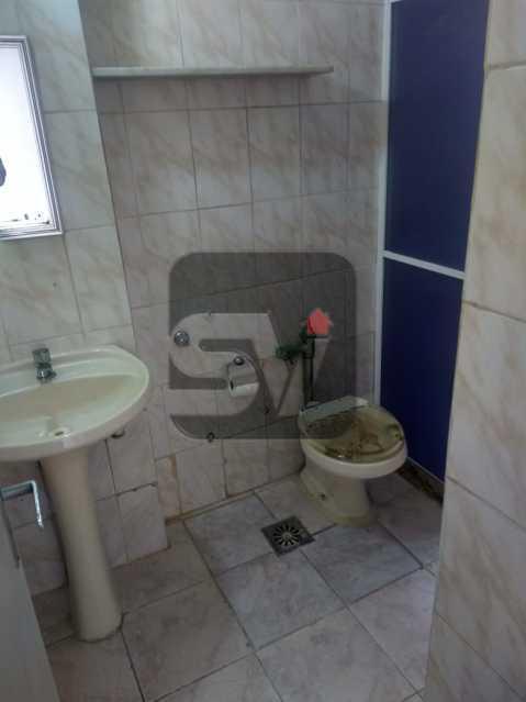 Banheiro social - DOIS DORMITORIO E VAGA NA GLORIA, P´ROXIMO ATERRO, METRO E CENTRO DA CIDADE, PREÇO IMBATÍVEL - SVAP20086 - 6