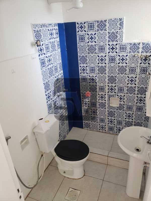 Banheiro social - Conjugado amplo com área de serviço. Glória - SVKI00028 - 7