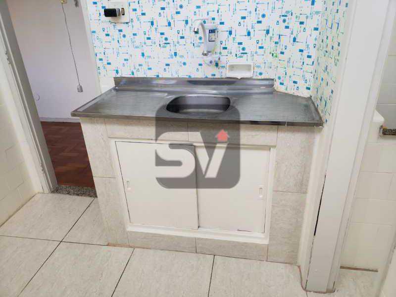 Cozinha - Conjugado amplo com área de serviço. Glória - SVKI00028 - 9