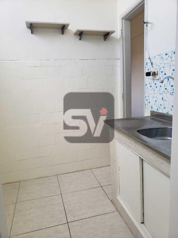 Cozinha - Conjugado amplo com área de serviço. Glória - SVKI00028 - 10