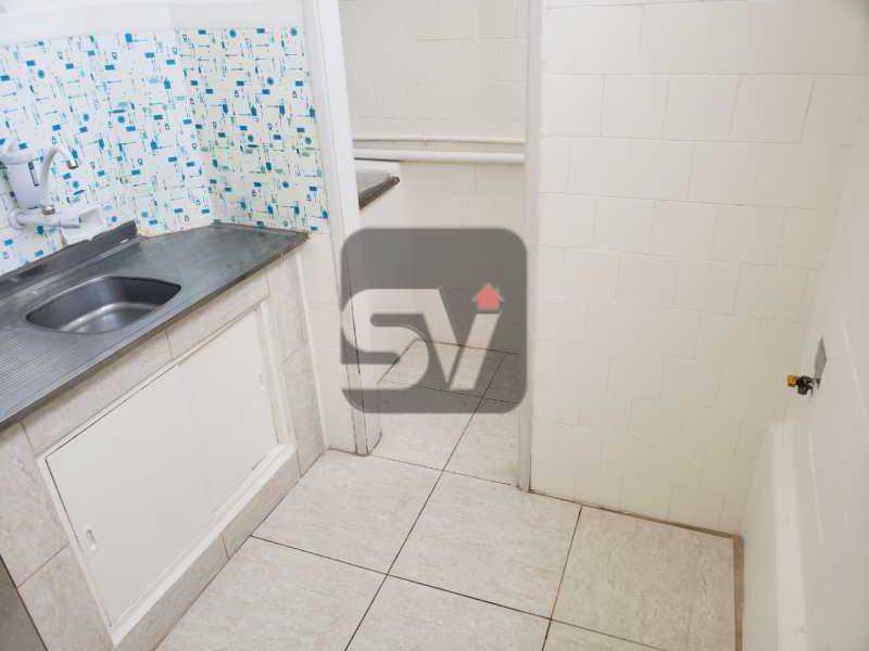 Cozinha - Conjugado amplo com área de serviço. Glória - SVKI00028 - 13