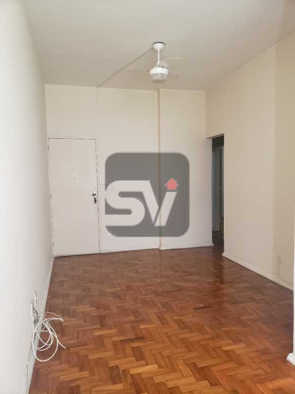 Sala - Catete. 3 Quartos (sendo 1 escritório). Varanda no quarto. - SVAP30061 - 1