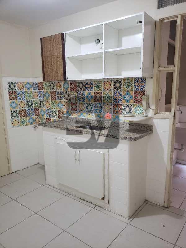 Cozinha - Catete. 3 Quartos (sendo 1 escritório). Varanda no quarto. - SVAP30061 - 12