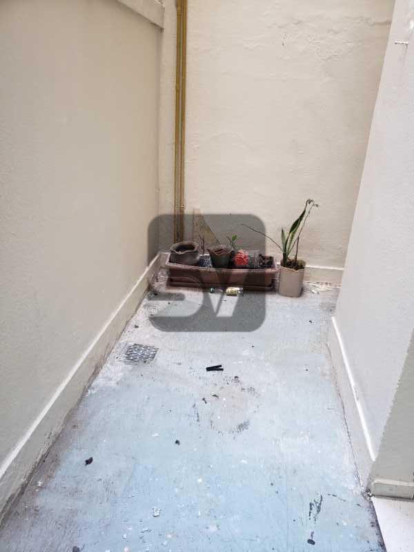 Área externa - Catete. 3 Quartos (sendo 1 escritório). Varanda no quarto. - SVAP30061 - 20