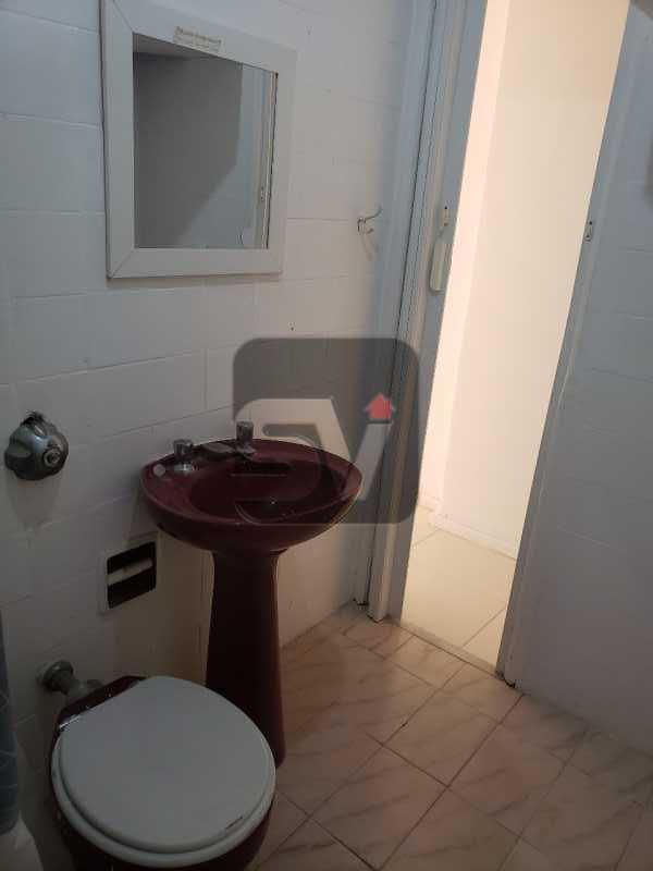 Banheiro social - Conjugado. Laranjeiras. Instalação para máquina de lavar - SVKI00029 - 6