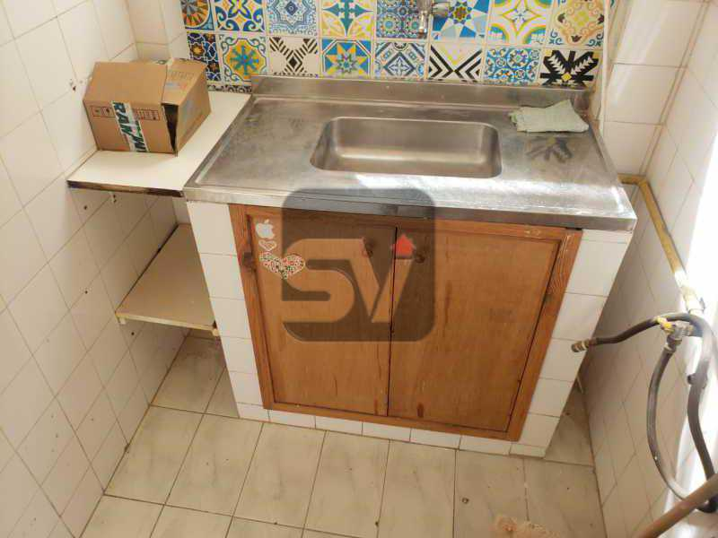 Cozinha - Conjugado. Laranjeiras. Instalação para máquina de lavar - SVKI00029 - 10