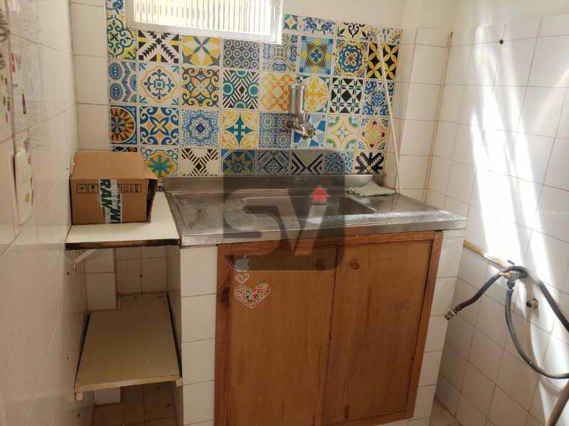 Cozinha - Conjugado. Laranjeiras. Instalação para máquina de lavar - SVKI00029 - 11