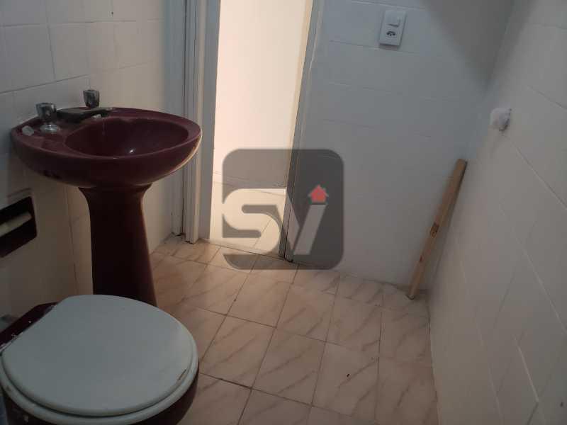 Banheiro social - Conjugado. Laranjeiras. Instalação para máquina de lavar - SVKI00029 - 8
